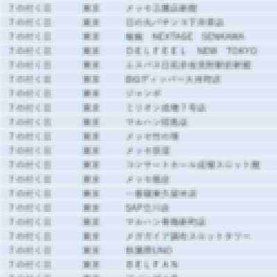東京都の旧イベント日まとめ【関東エリア】