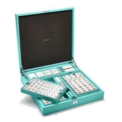 「ティファニー」の麻雀セットが発売中。価格は…156万円⁉
