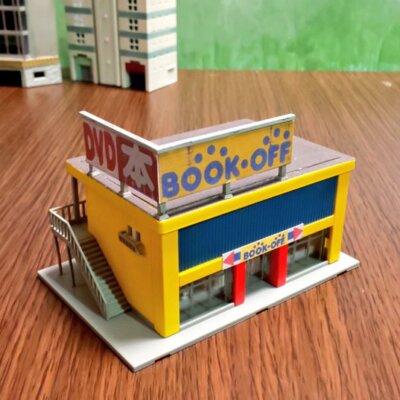 【tomix】パチ屋の居抜きで出来たブックオフ店