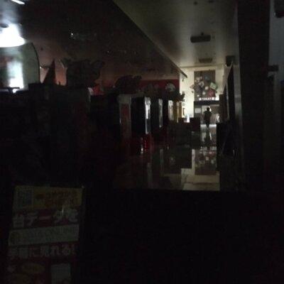 【奈良県】家が停電したから見に来たらパチ屋も停電していた【4月17日14時頃発生、現在復旧】
