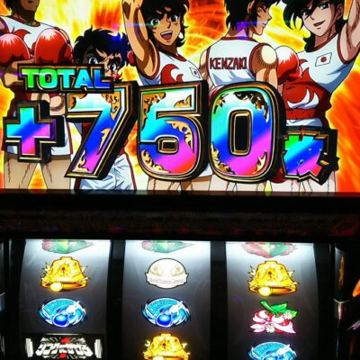 【至高のニブイチ】1レバー1/2の抽選で5,000円ずつ増えるのはなかなか痺れる。